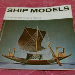 ship models #1 from earliest times to 1700 AD